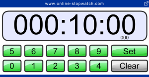 14 digital clock