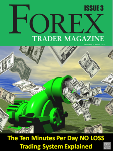 Front cover of Forex Trader Magazine Feb / mar edition 2014