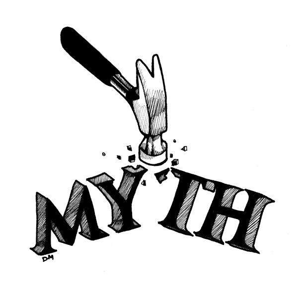myth with hammer